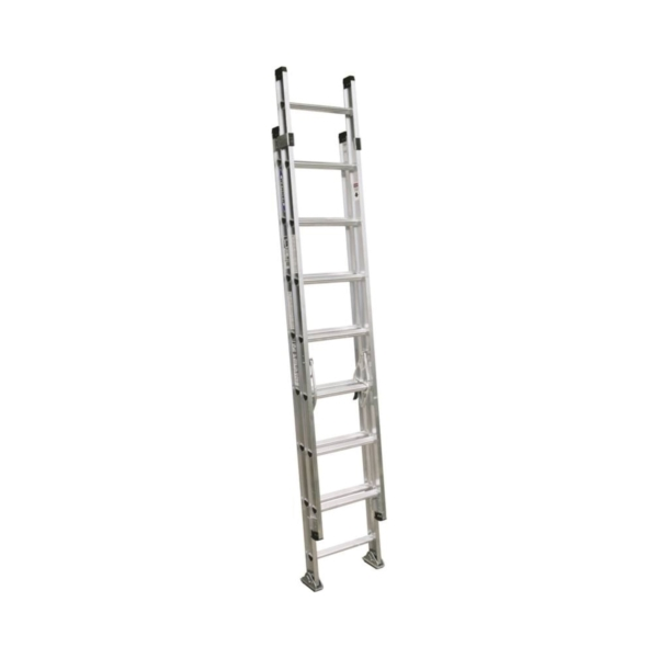 Picture of WERNER D1516-2 Extension Ladder, 16 ft H Reach, 300 lb, Aluminum