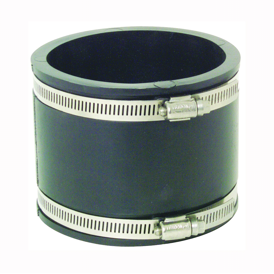 Picture of FERNCO P1056-44 Flexible Pipe Coupling, 4 in, PVC, Black, 4.3 psi Pressure