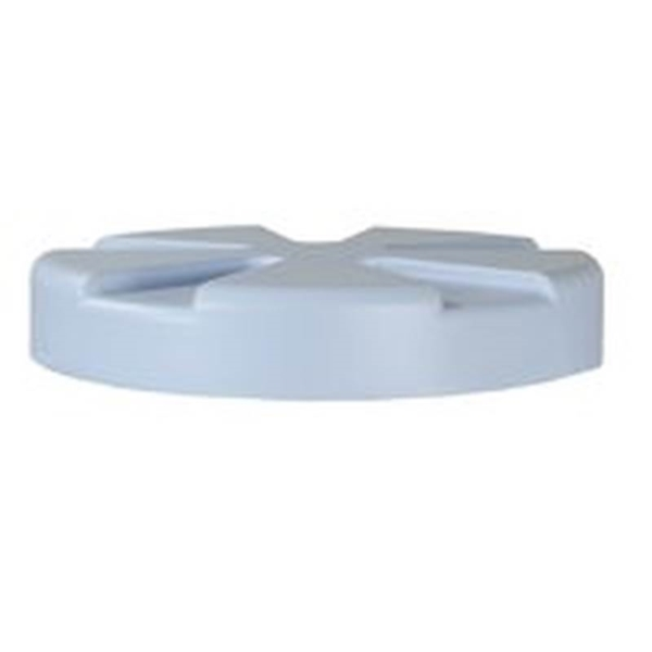 Picture of Rubbermaid FG04050601 Water Cooler Lid, Polyethylene, White, For: 5 gal Water Coolers