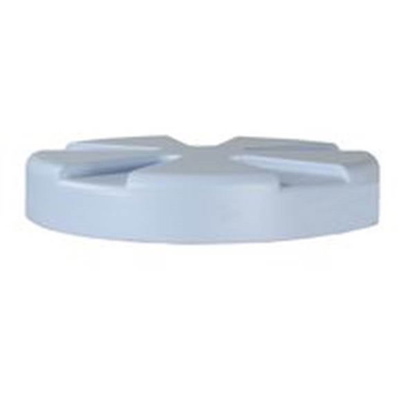 Picture of Rubbermaid FG09760692 Water Cooler Lid, Plastic, White, For: 10 gal Water Coolers
