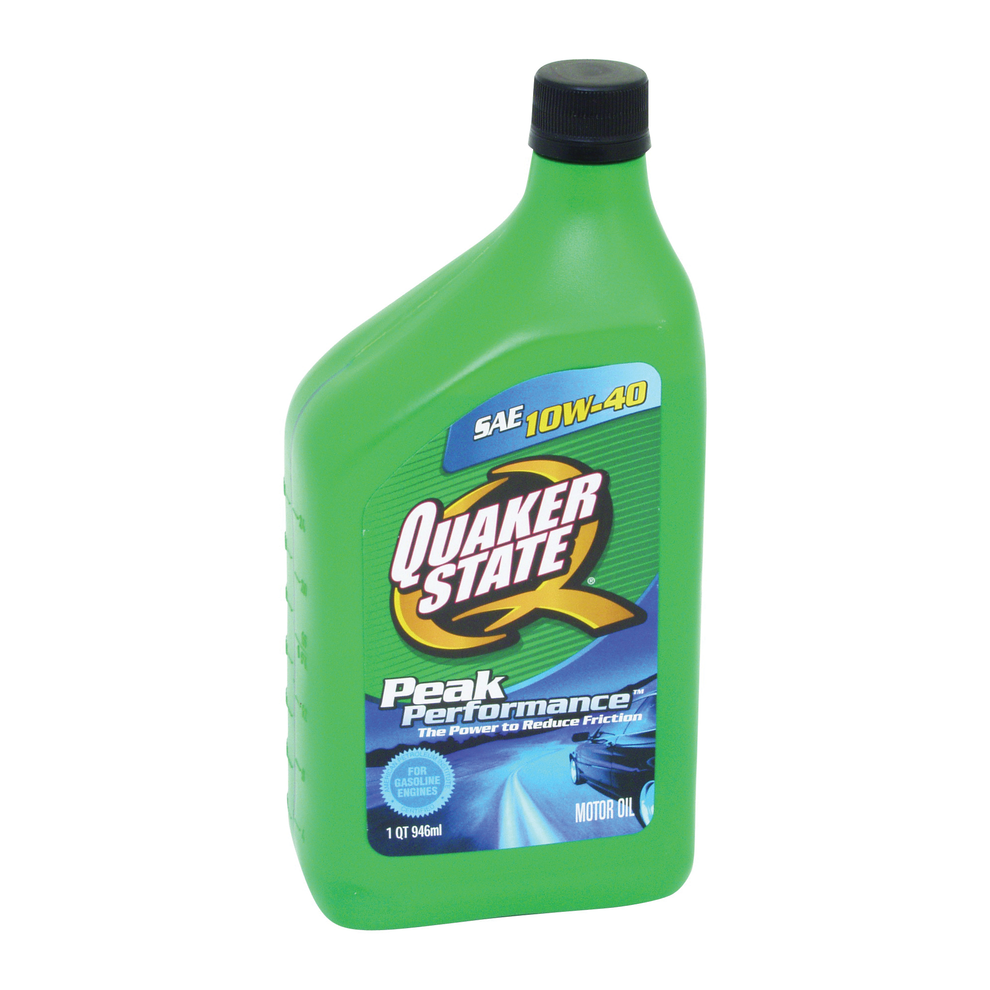 Picture of Quaker State Advanced Durability 550034964/5500240 Motor Oil, 10W-40, 1 qt Package, Bottle