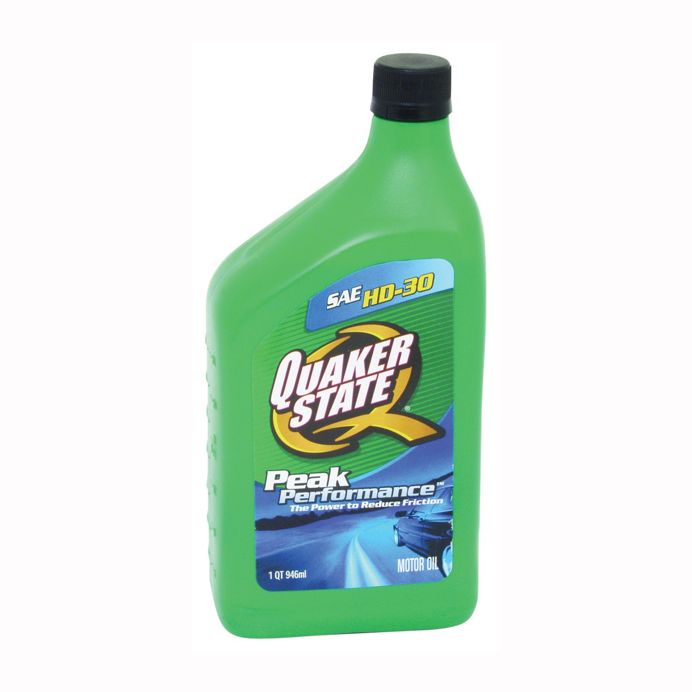 Picture of Quaker State 550035190/5500241 Motor Oil, 30, 1 qt Package, Bottle