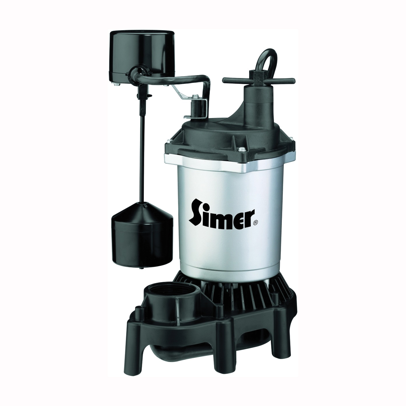 Picture of Sta-Rite Simer 2164 Sump Pump, 1-Phase, 3.9 A, 115 V, 0.33 hp, 1-1/2 in Outlet, 22 ft Max Head, 660 gph