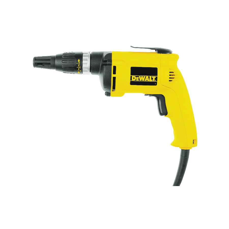 Picture of DeWALT DW255 VSR Screwgun, 120 V, 0 to 5300 rpm Speed, 60 in-lb