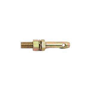 Picture of SpeeCo S07021900 Draw Pin, 7/8 in Dia Pin, 6-1/4 in OAL, Carbon Steel, Yellow Zinc Dichromate