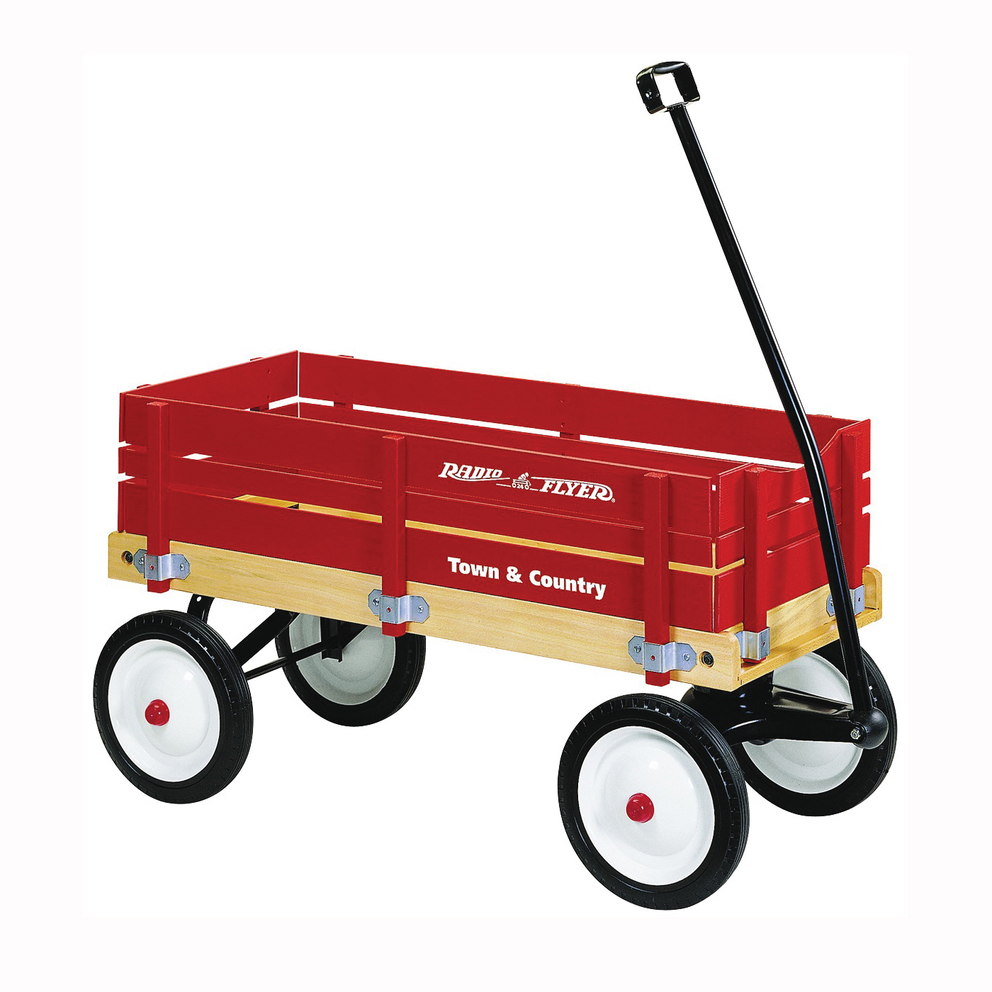 Picture of RADIO FLYER 24 Wagon, 150 lb Capacity, Wood, Red