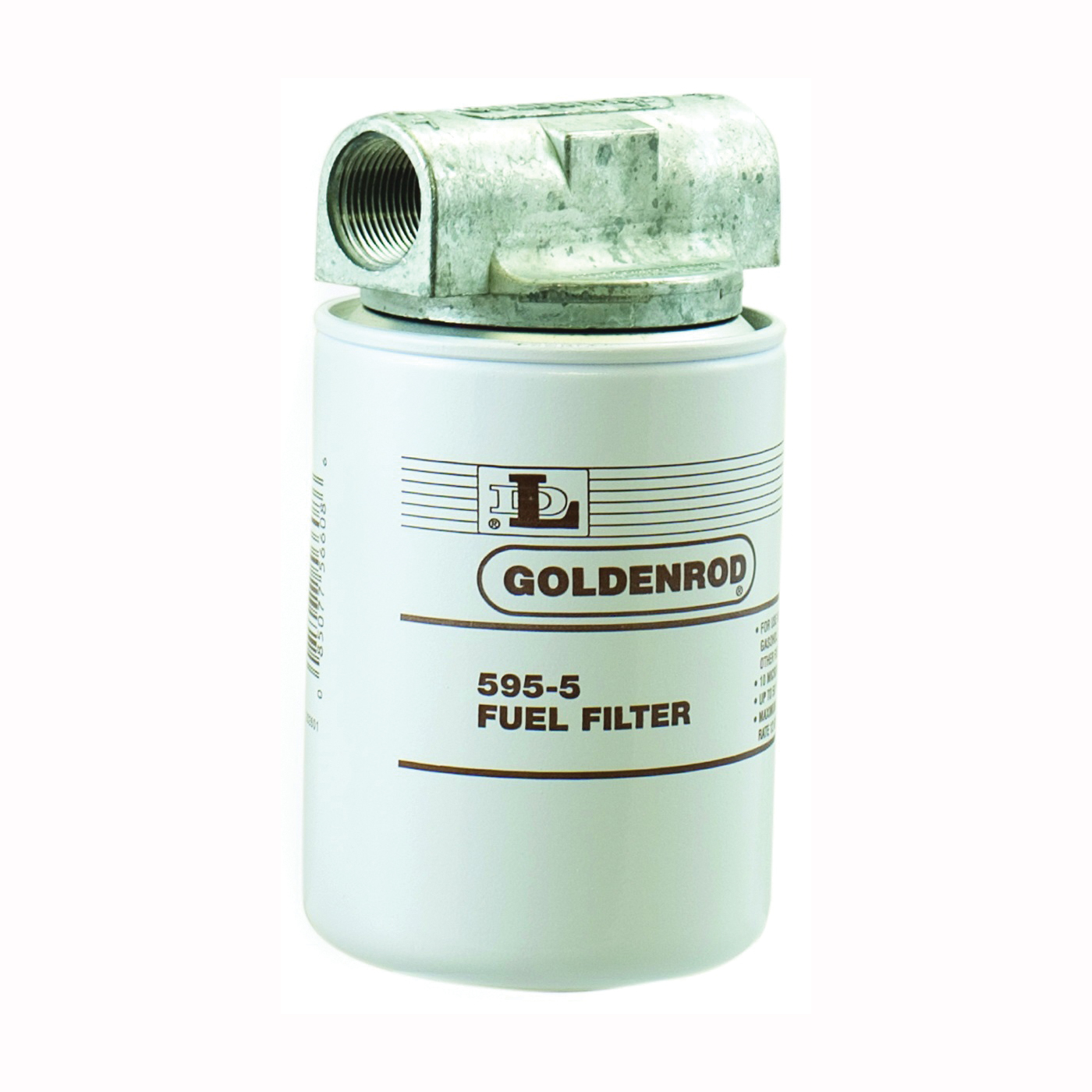 Picture of DL Goldenrod 595 Fuel Filter, 1 in Connection, NPT, 25 gpm