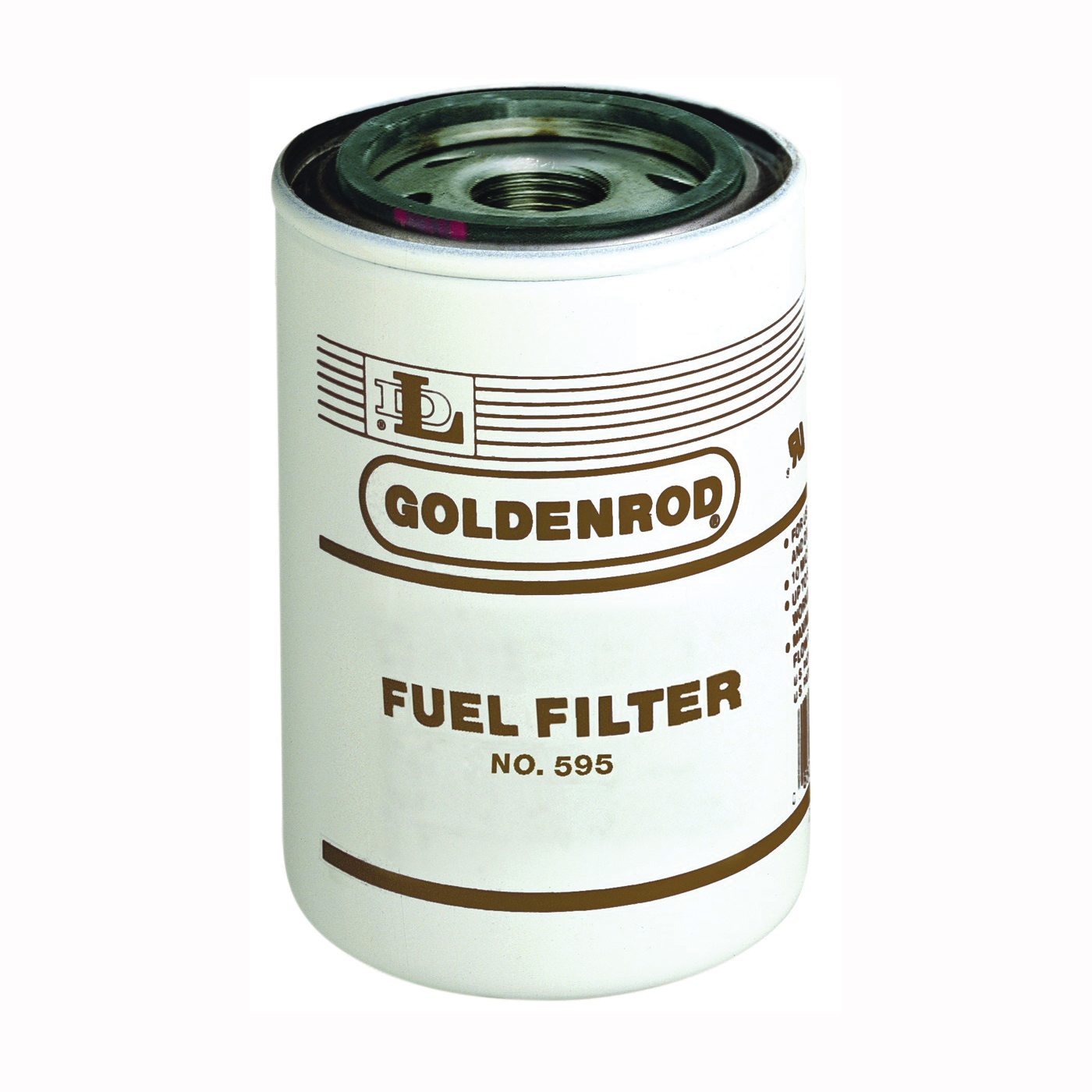 Picture of DL Goldenrod 595-5 Fuel Tank Filter, For: 595 Model 10 micron Fuel Filter