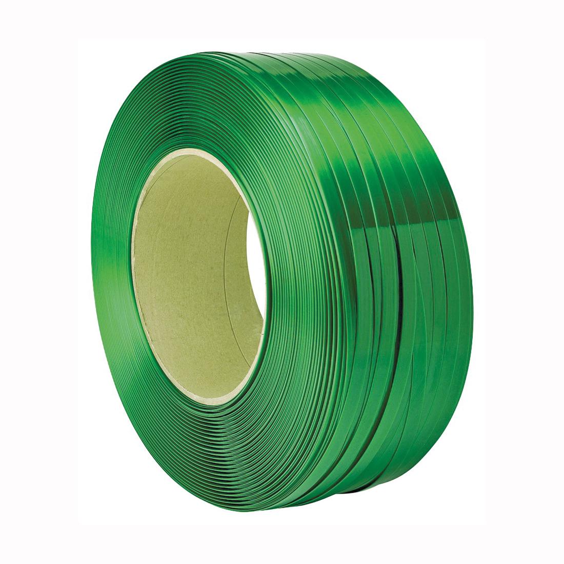 Picture of TransTech Signode TPS2X2011 Strapping Coil, 4200 ft L, 5/8 in W, Polyester, Green