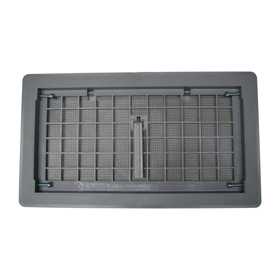 Picture of Bestvents 500GR Foundation Vent, Gray