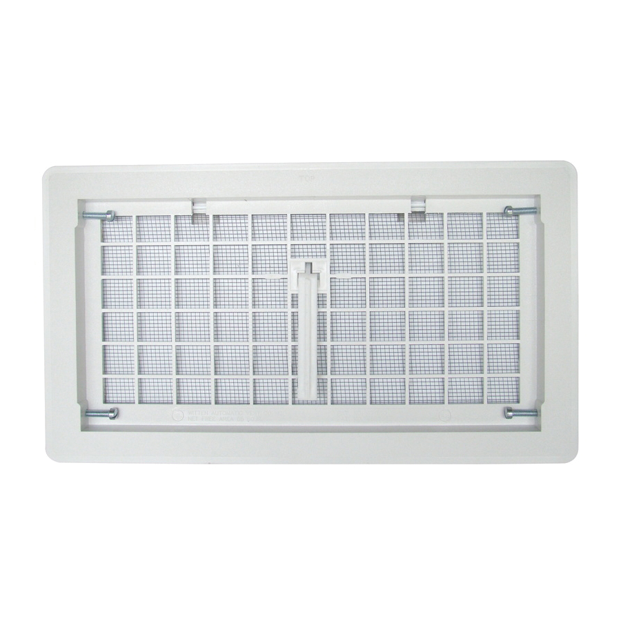 Picture of Bestvents 500WH Foundation Vent, White