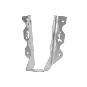Picture of MiTek JL210IF-TZ Joist Hanger, 8-1/4 in H, 1-1/2 in D, 1-9/16 in W, 2 in x 10 to 12 in, Steel, Zinc