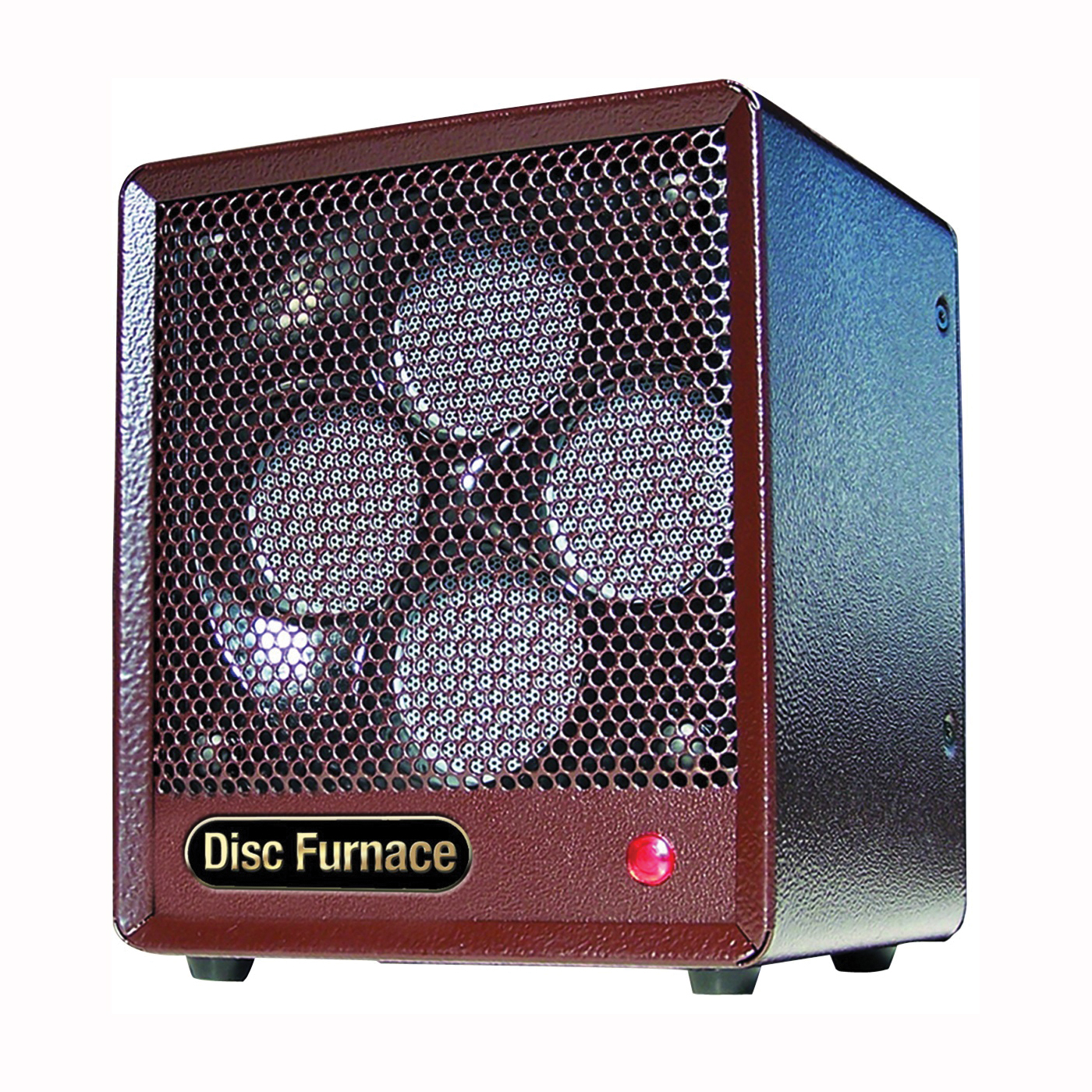 Picture of Comfort Glow BDISC6 Electric Disc Heater, 15 A, 120 V, 1500 W, 5200 Btu Heating, 600 sq-ft Heating Area, Brown