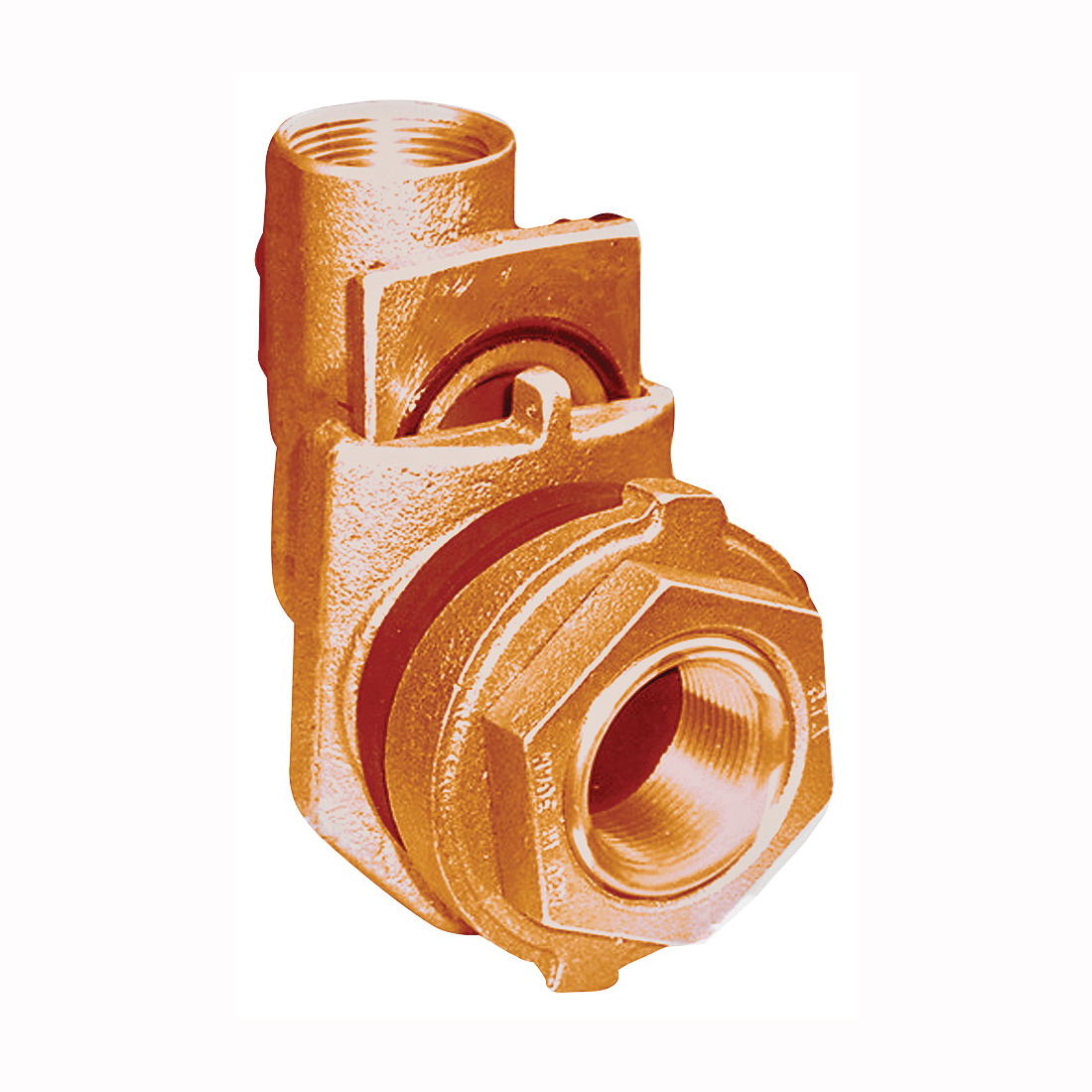 Picture of Simmons 1822SB Pitless Adapter, 1-1/4 in, Silicone Bronze