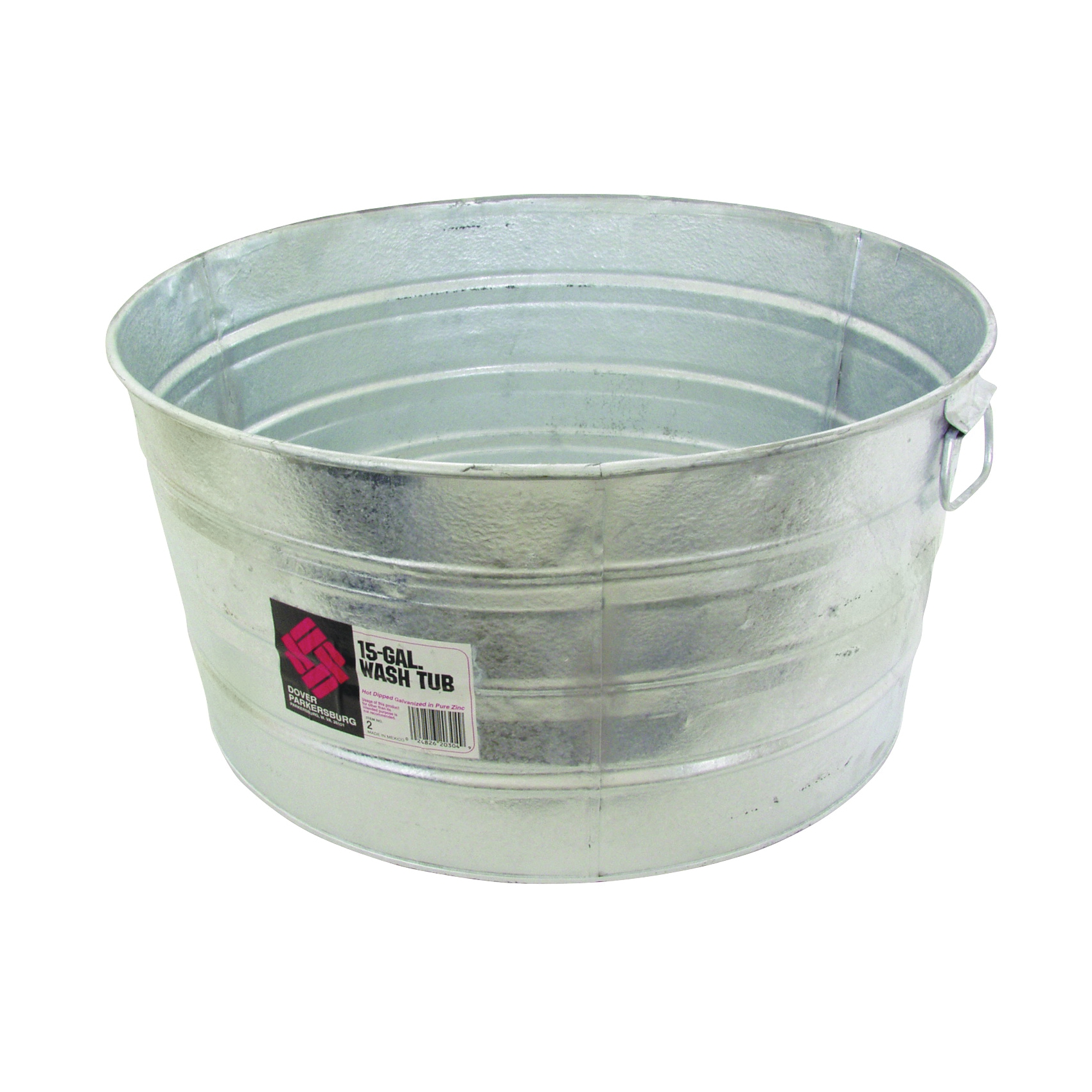 Picture of Behrens 2 Wash Tub, 15 gal Capacity, Steel