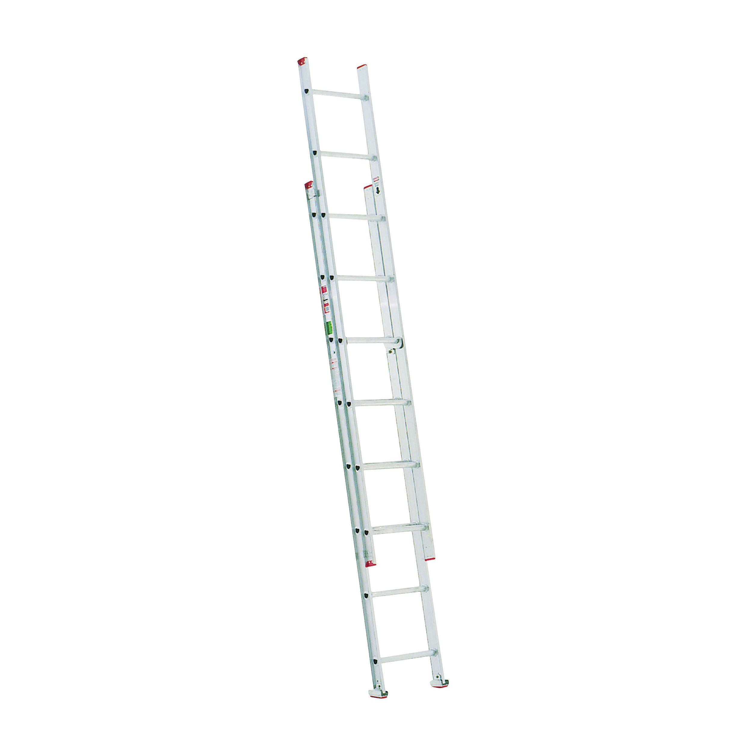 Picture of WERNER D716-2 Extension Ladder, 15 ft H Reach, 200 lb, Aluminum