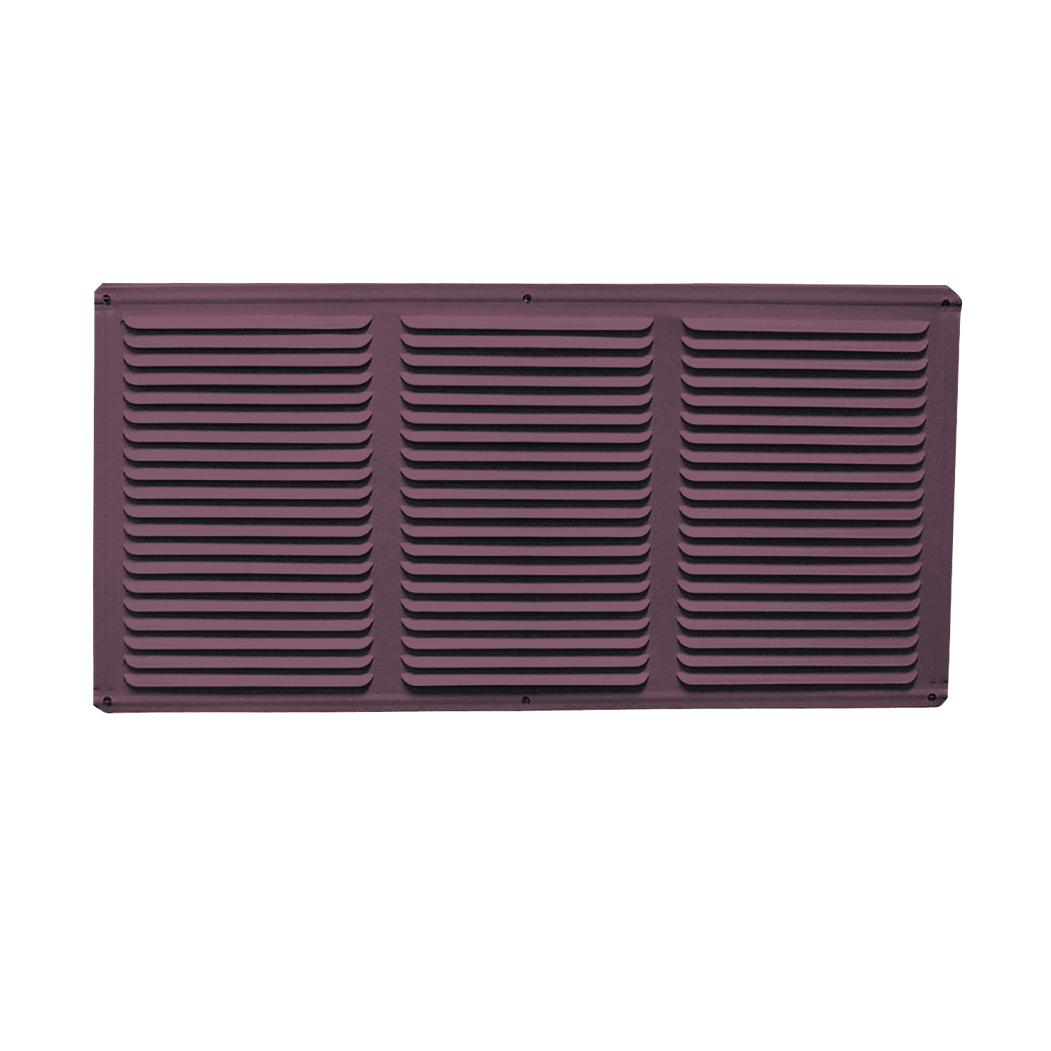 Picture of Master Flow EAC16X4BR Undereave Vent, 24 sq-ft Net Free Ventilating Area, Aluminum, Brown