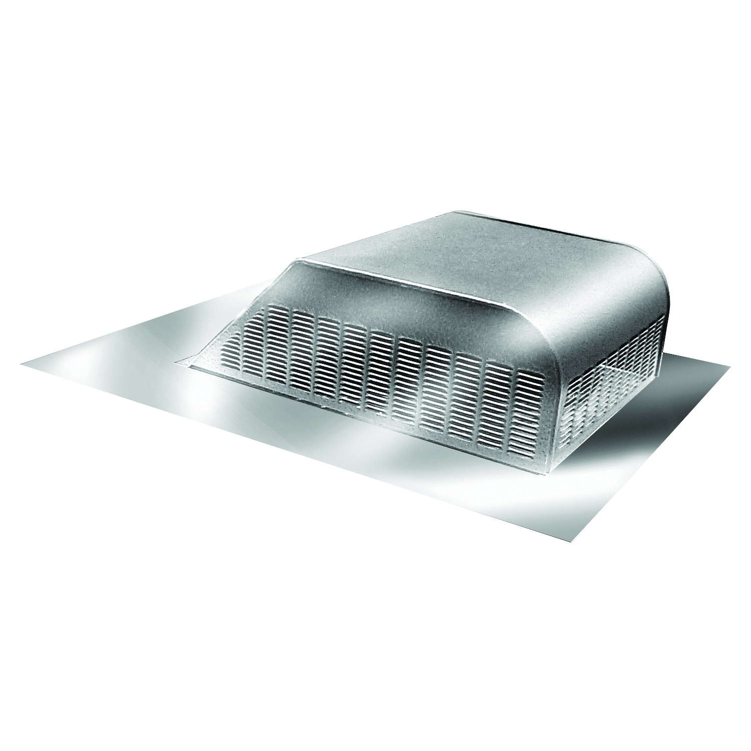 Picture of Master Flow SSB960A Roof Louver, 18 in L, 20-1/2 in W, Aluminum, Mill