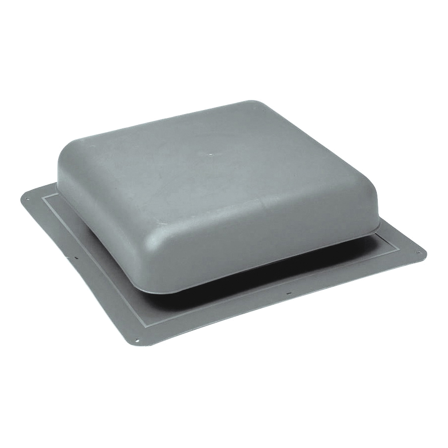 Picture of Master Flow RT65G Roof Louver, 18-1/2 in L, 18 in W, Resin, Gray