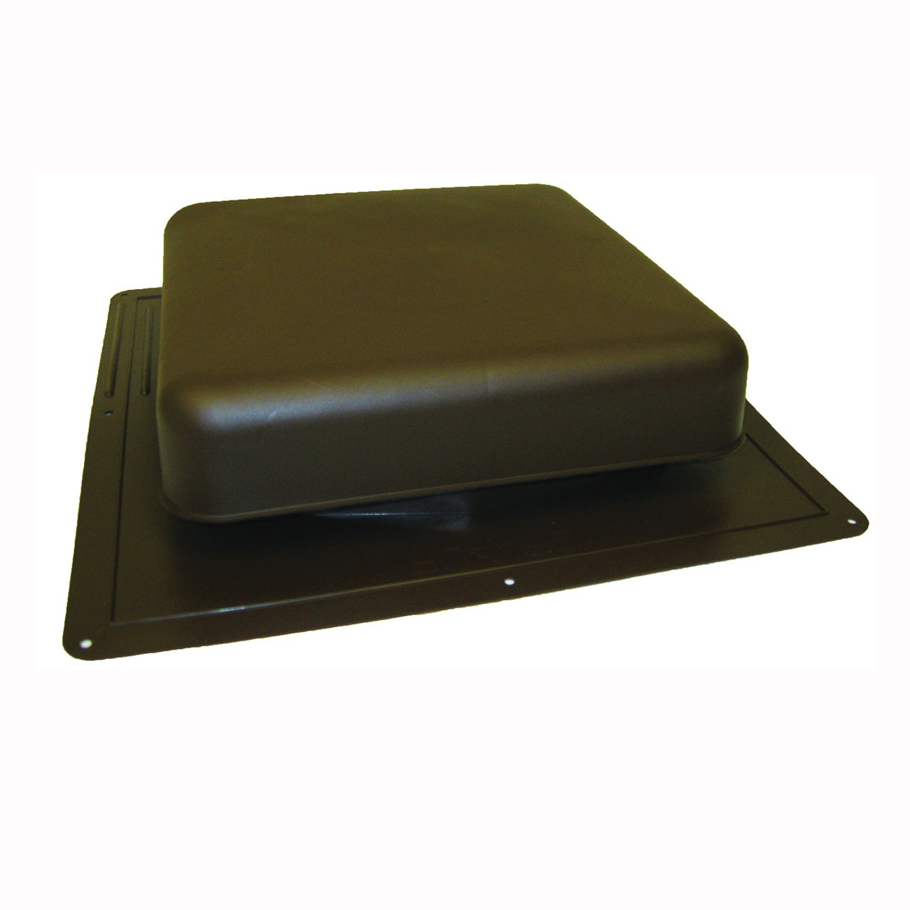 Picture of Master Flow RT65BR Roof Louver, 18-1/2 in L, 18 in W, Resin, Brown