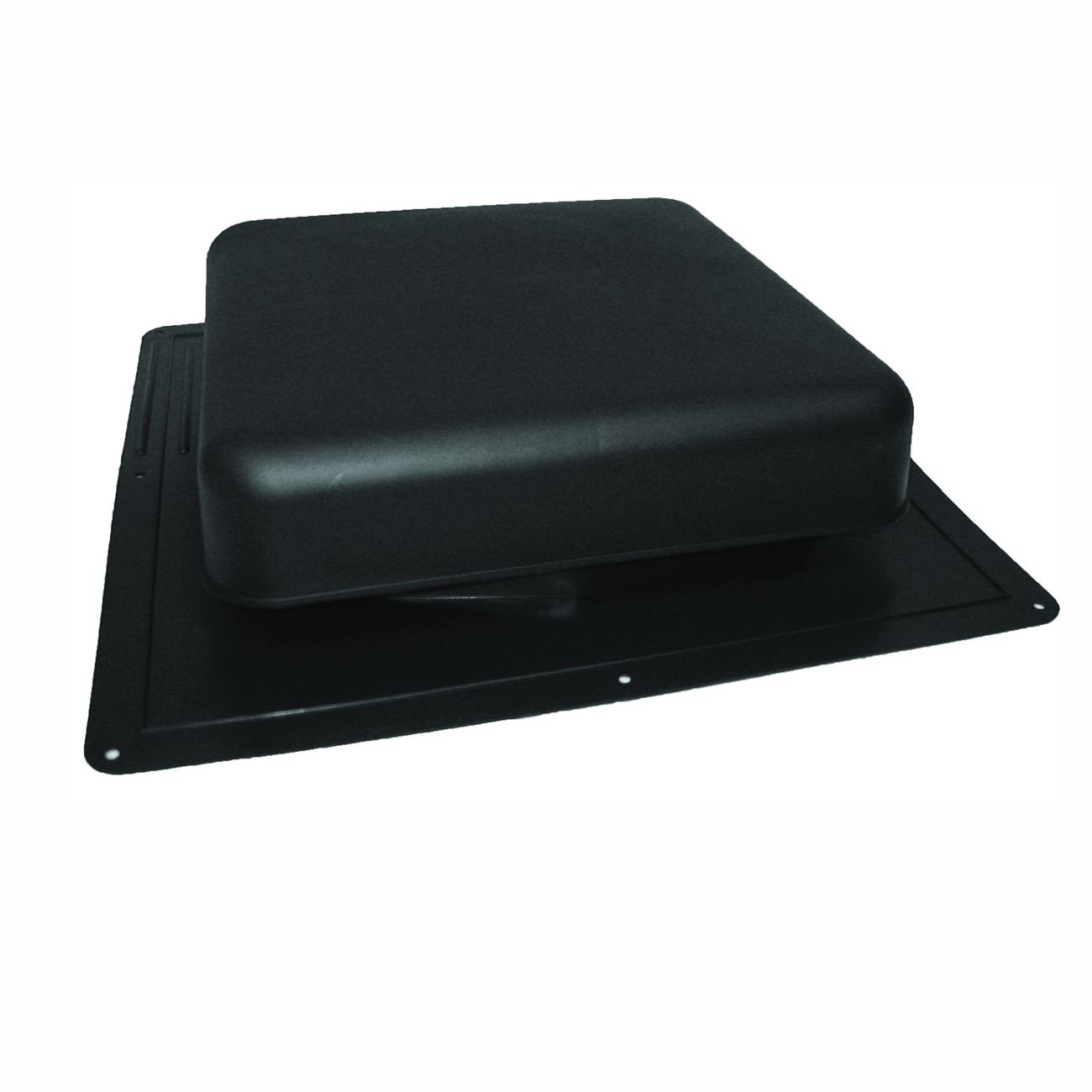 Picture of Master Flow RT65BL Roof Louver, 18-1/2 in L, 18 in W, Resin, Black