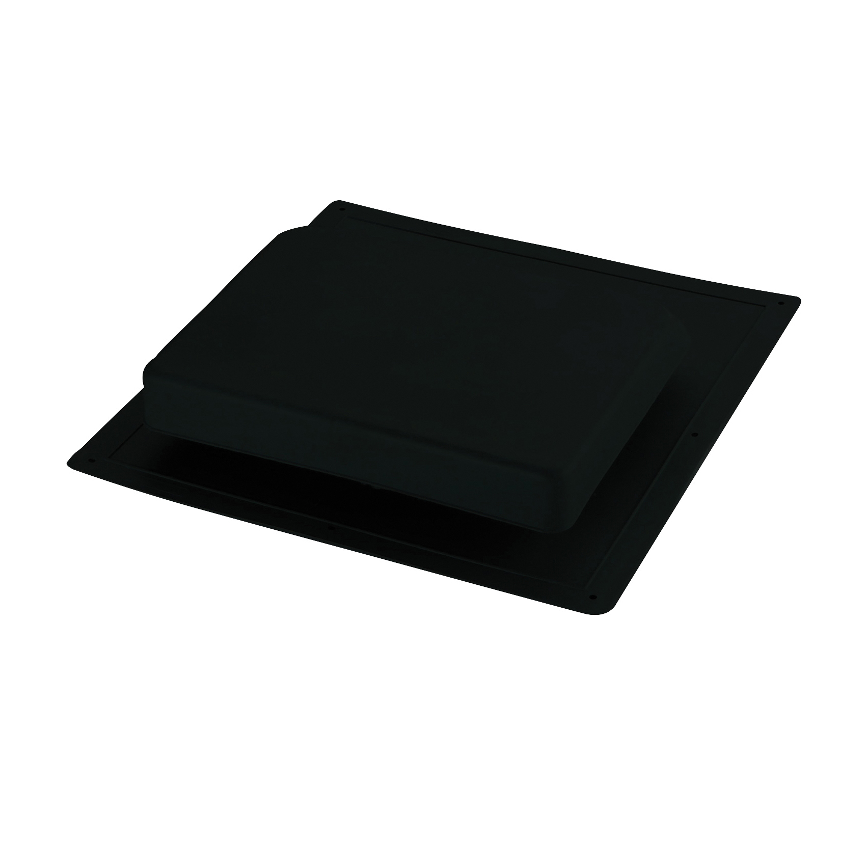 Picture of Master Flow IR61BL Roof Louver, 4-1/4 in L, 17-1/2 in W, Resin, Black