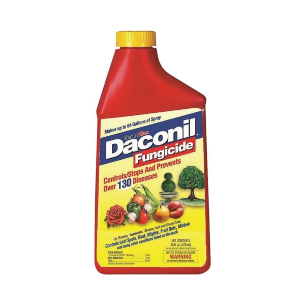 Picture of Daconil 100526103 Fungicide, Liquid, Odorless, 16 oz Package, Bottle