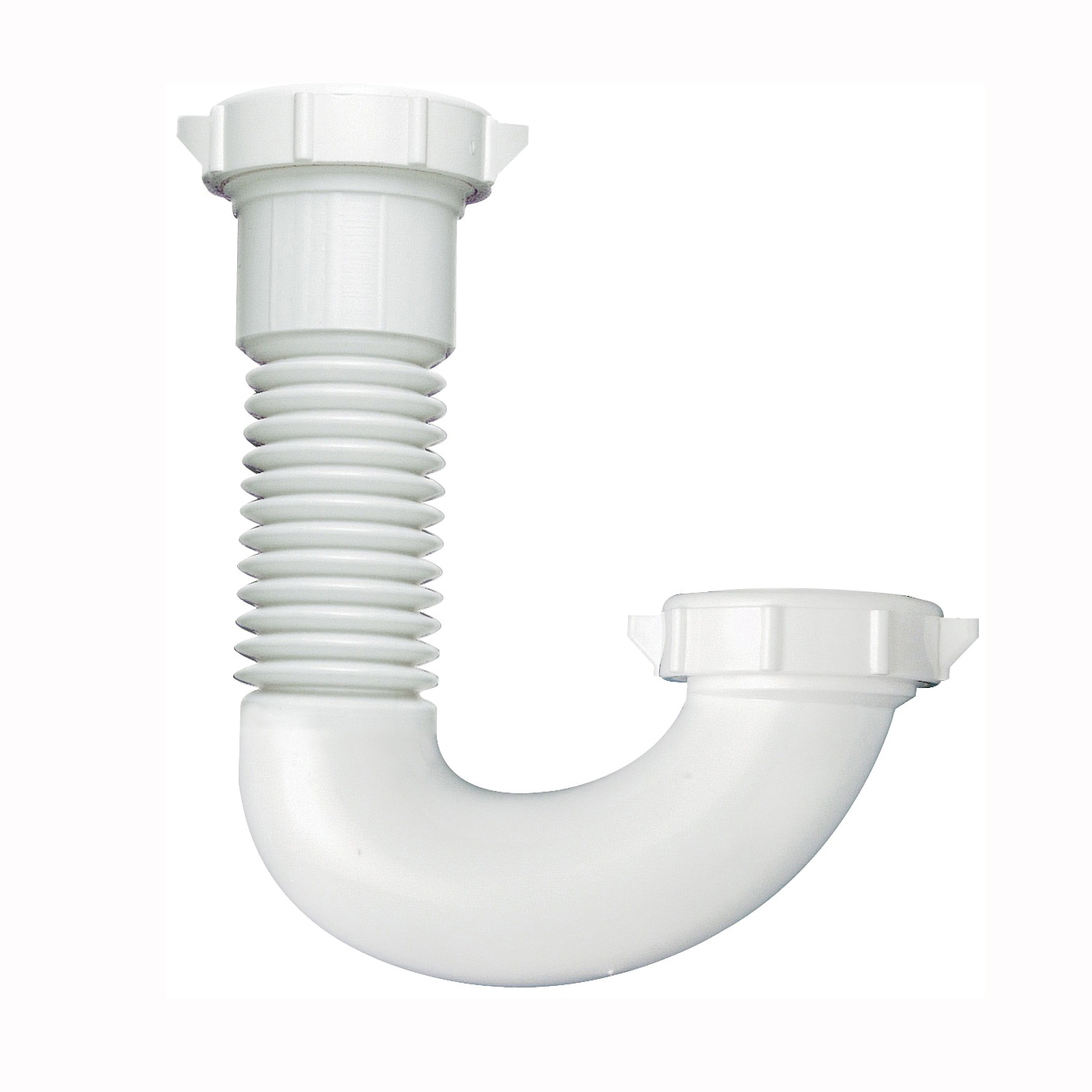 Picture of Plumb Pak PP21250 J-Bend, 1/2 x 1-1/4 in, Plastic, White