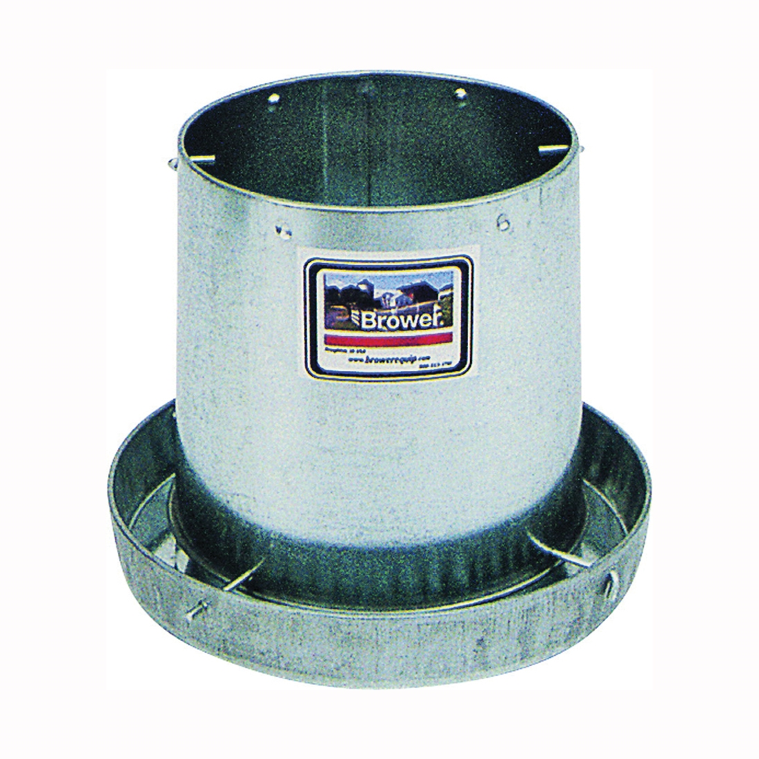 Picture of FORTEX-FORTIFLEX GLV12H Hanging Feeder, 12 lb Capacity, Steel, Galvanized