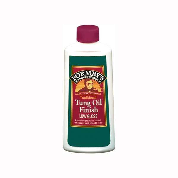 Picture of Minwax 30069000 Tung Oil Finish, Low-Gloss, Liquid, 8 oz, Can