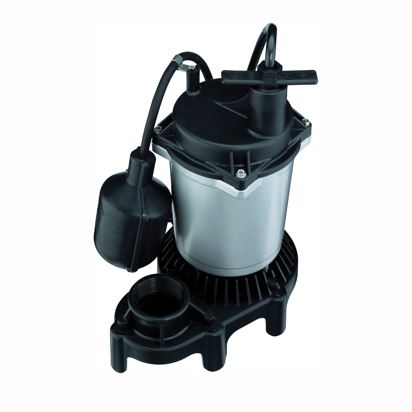 Picture of Flotec FPZS50T Sump Pump, 1-Phase, 4.1 A, 115 V, 0.5 hp, 1-1/2 in Outlet, 22 ft Max Head, 960 gph