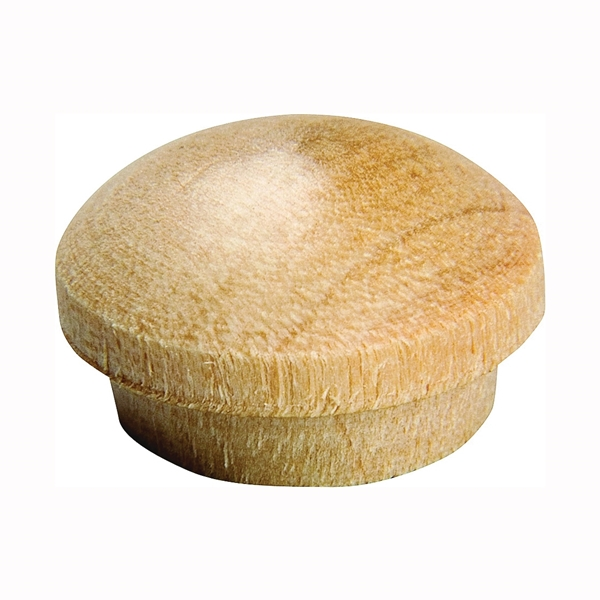 Picture of Waddell 8400.50-CS Screw Hole Button, Birchwood