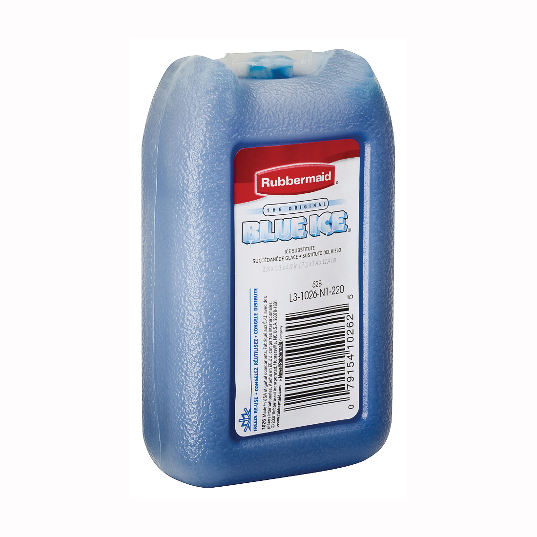 Picture of Rubbermaid FG1026TL220 Ice Substitute, 8 oz, Blue