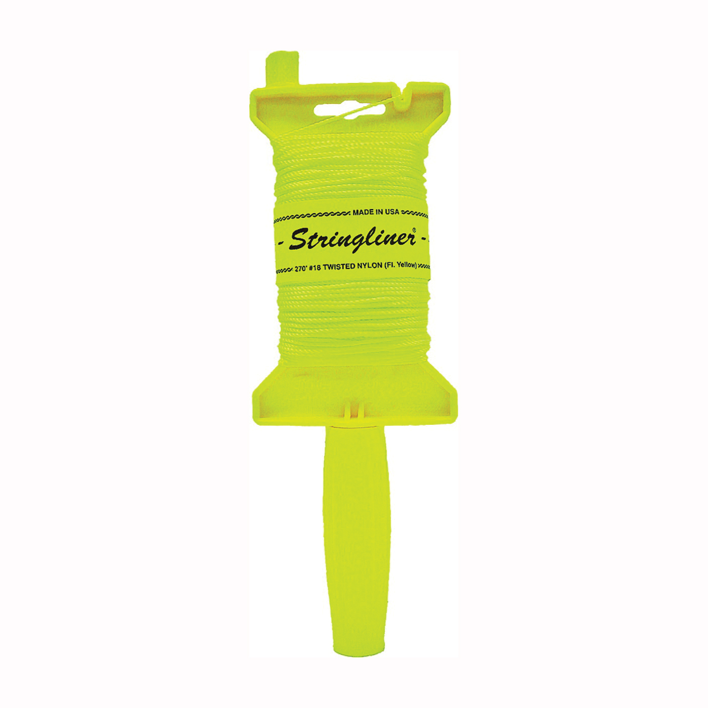 Picture of Stringliner 11412 Line Reel, 270 ft L Line, Fluorescent Yellow Line