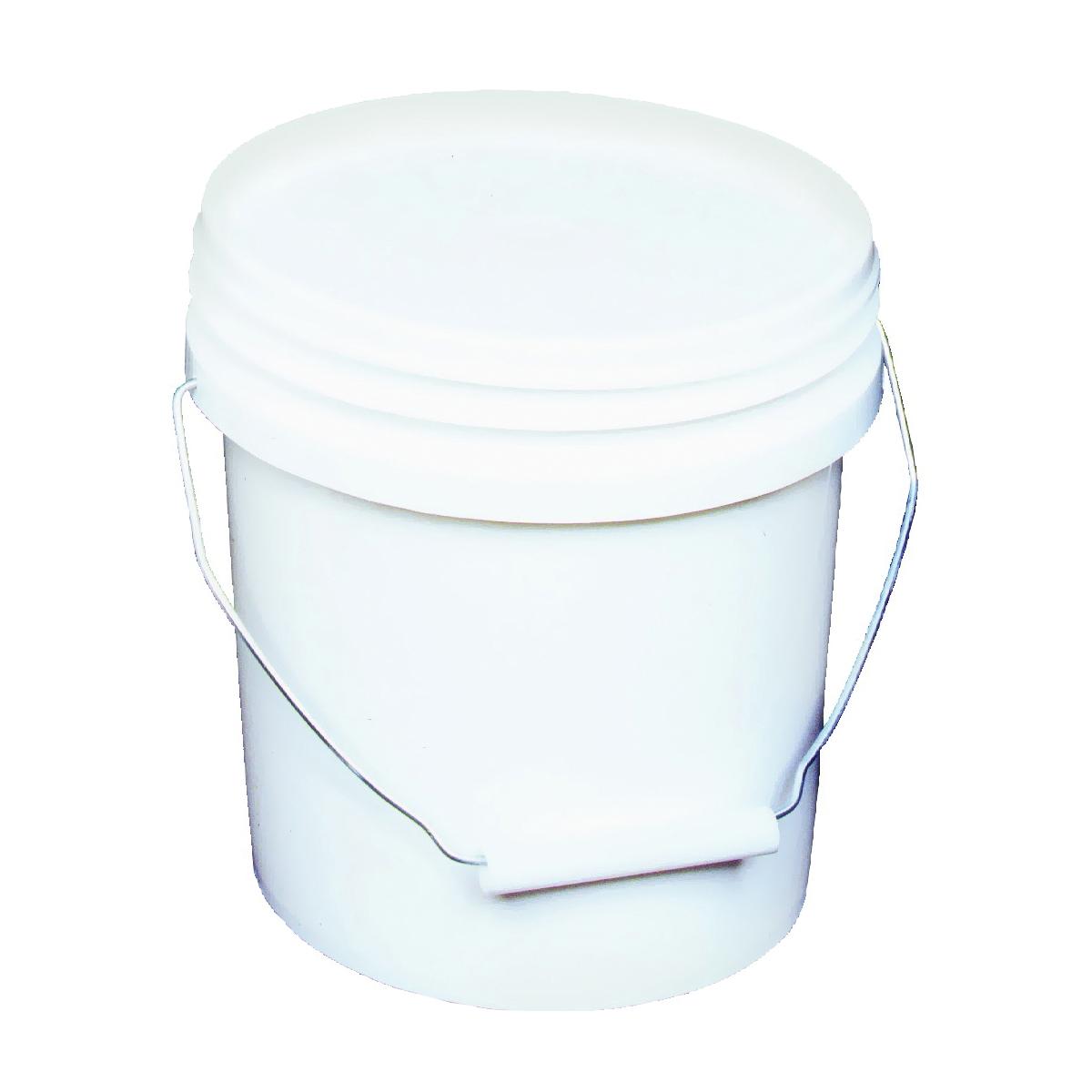 Picture of ENCORE Plastics 10128 Paint Pail, 1 gal Capacity, HDPE, White