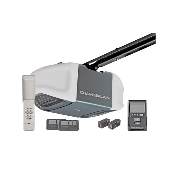 Picture of Chamberlain B510/WD832KEV Garage Door Opener, 100 W, Remote Control