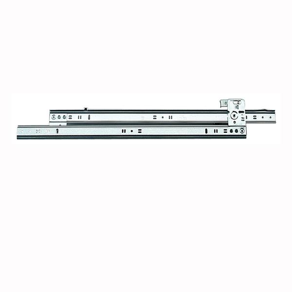 Picture of Knape & Vogt 1260P 18 Drawer Slide, 60 lb, 18 in L Rail, 1/2 in W Rail, Steel, Zinc