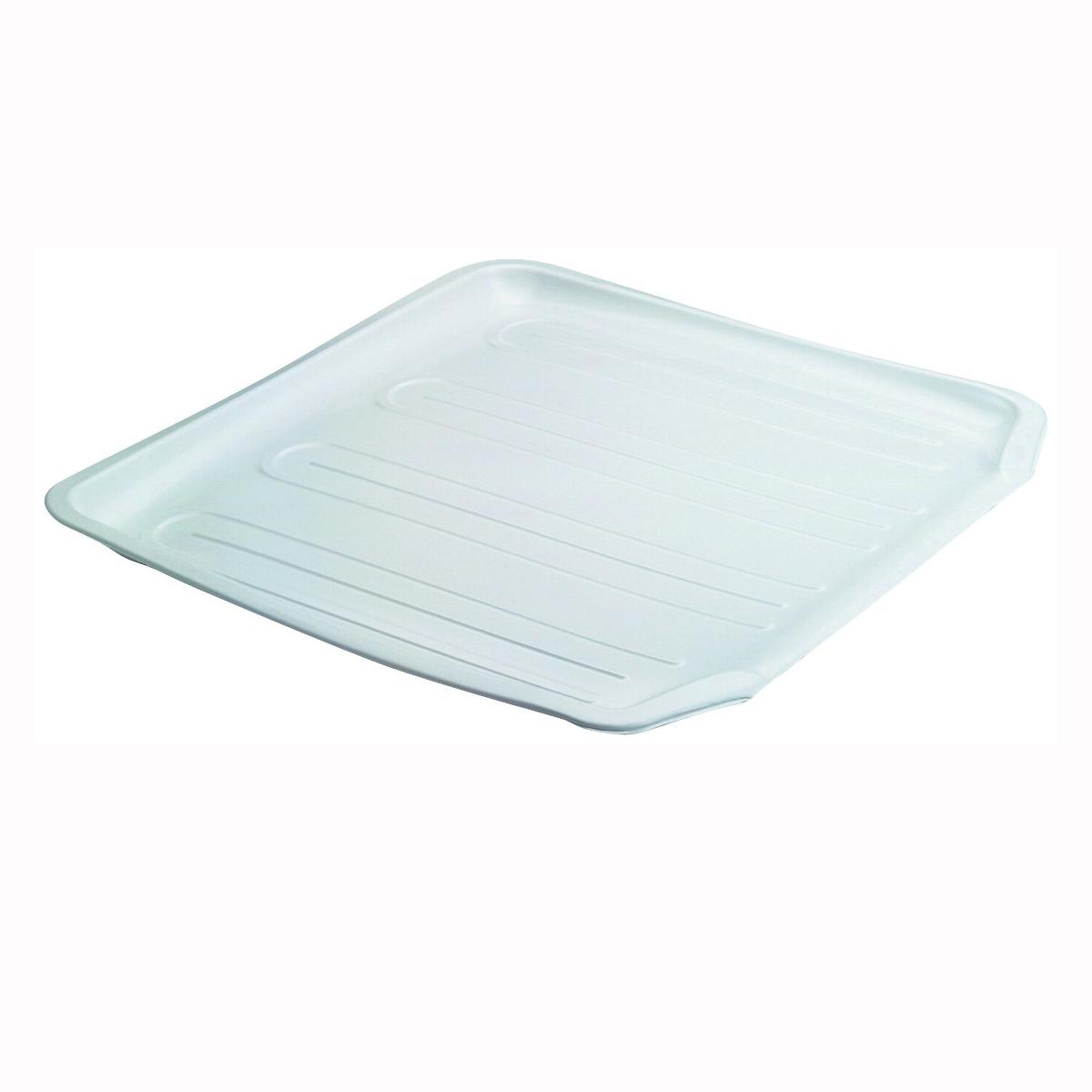 Picture of Rubbermaid 1180MAWHT Drain Board, 15.38 in L, 14.38 in W, 1.3 in H, Plastic, White