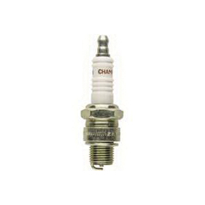 Picture of Champion L77JC4 Spark Plug, 0.027 to 0.033 in Fill Gap, 0.551 in Thread, 0.813 in Hex, Copper, For: Small Engines
