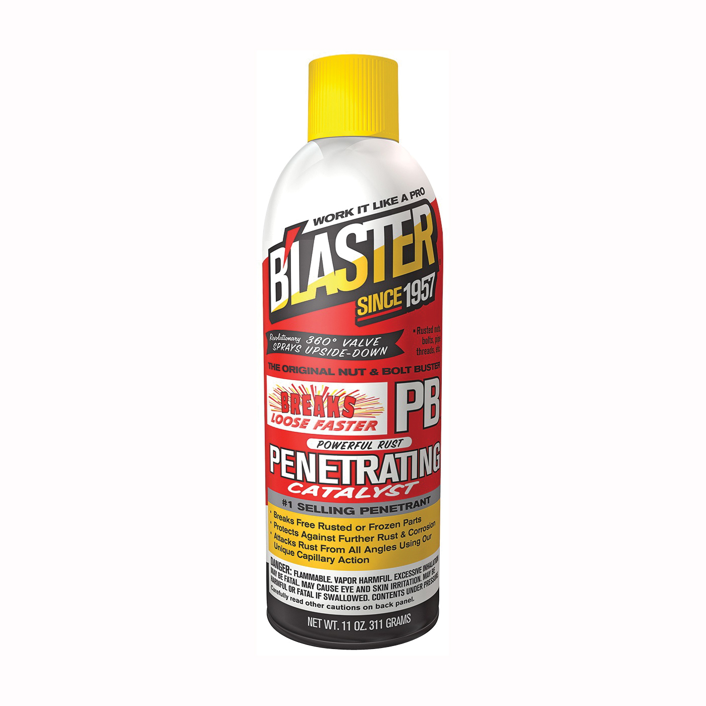 Picture of B'laster 16-PB Penetrant, 11 oz Package, Aerosol Can, Liquid, Heavy Aromatic
