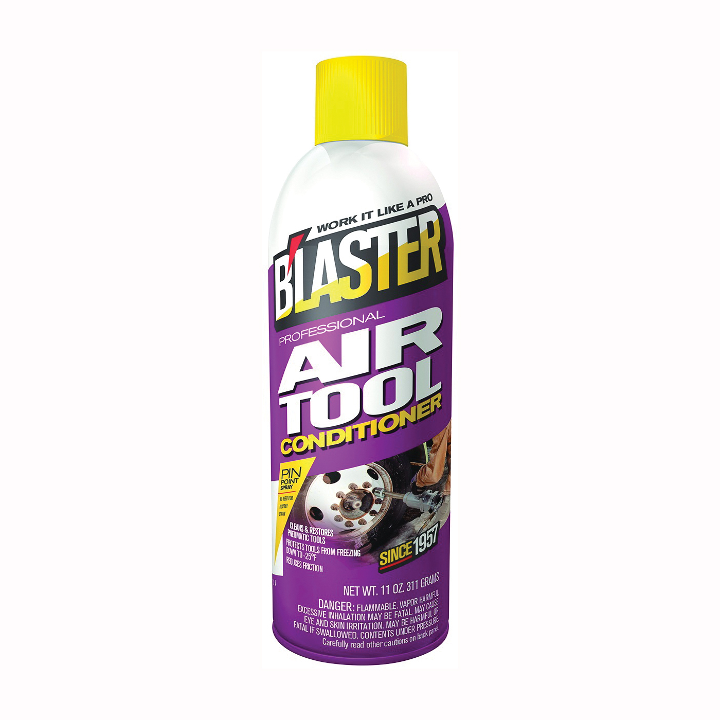 Picture of B'laster 16-ATC Air Tool Conditioner, 11 oz Package, Aerosol Can