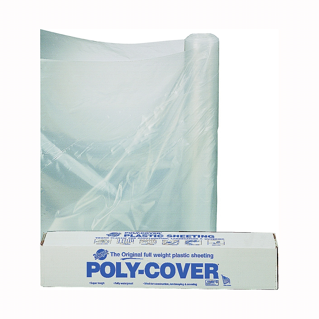 Picture of ORGILL POLY 4X16-C Poly Film, 100 ft L, 16 ft W, Clear