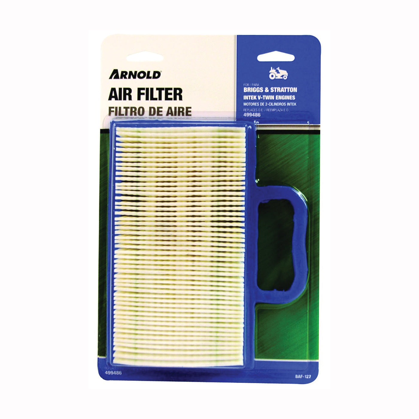Picture of ARNOLD BAF-127 Replacement Air Filter with Pre-Cleaner, Paper Filter Media