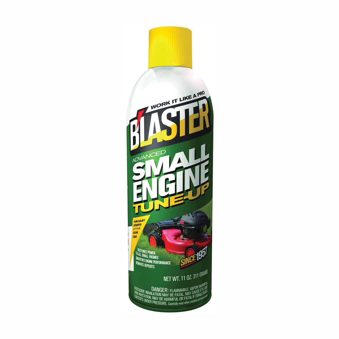 Picture of B'laster 16-SET Engine Tune-Up Red, 11 oz Package, Aerosol Can