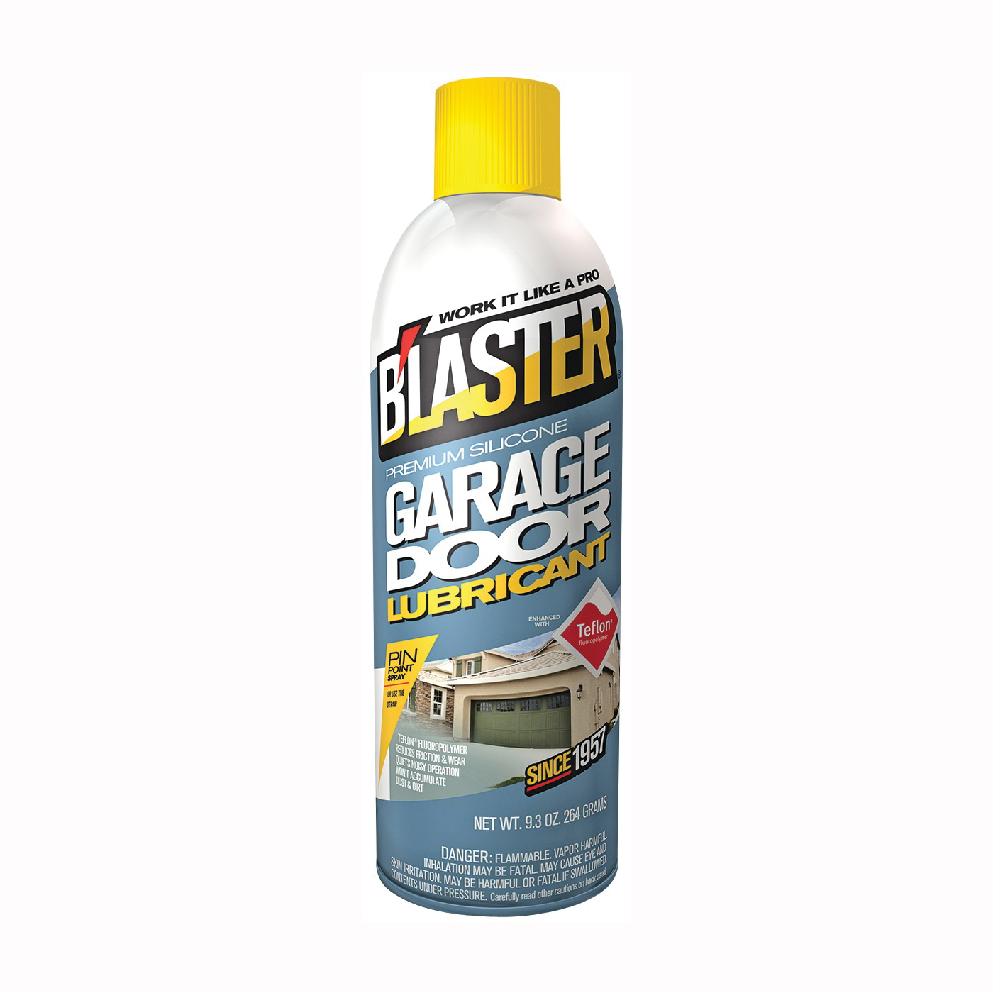 Picture of B'laster 16-GDL Lubricant, 9.3 oz Package, Aerosol Can, Liquid, Mild Aliphatic