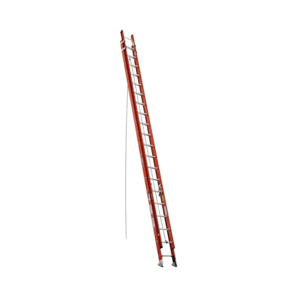 Picture of WERNER D6240-2 Extension Ladder, 37 ft H Reach, 300 lb, Fiberglass