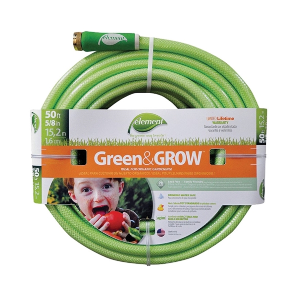 Picture of SWAN ELGG58050 Garden Hose, 50 ft L, Vinyl, Bright Green