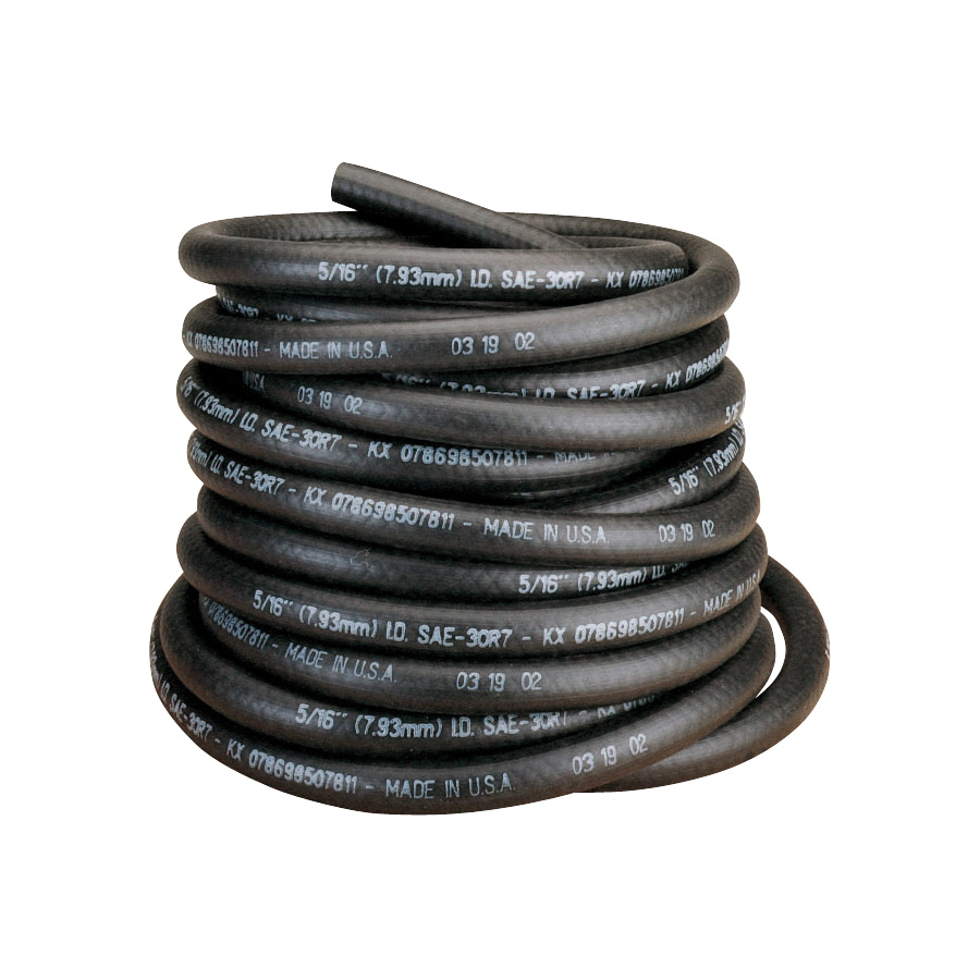 Picture of Thermoid 25060 Fuel Line Hose, 25 ft L, NBR/PVC, Black
