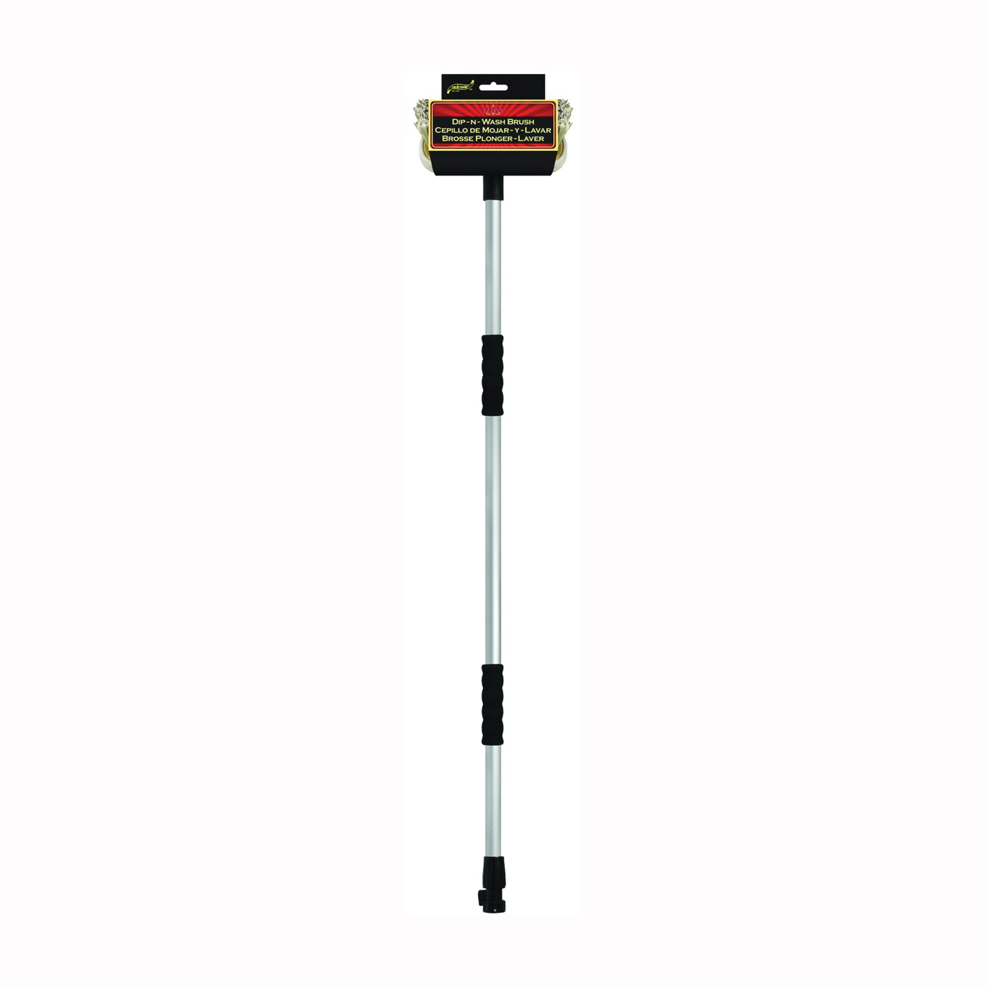 Picture of SM ARNOLD Professional 85-690 Fountain Brush, 2-1/2 in L Trim, 8 in OAL, Polystyrene Trim, Rubber Handle