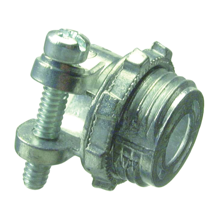 Picture of Halex 04203B Squeeze Connector, 3/8 in Trade, Zinc